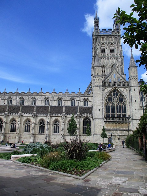Gloucester Cathedral from the south