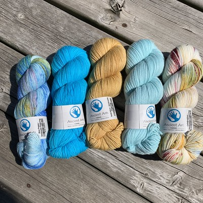 More Socknado from Ancient Arts Yarn has landed in the shop!