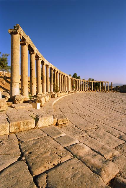 The Roman Forum, Jerash, Jordan