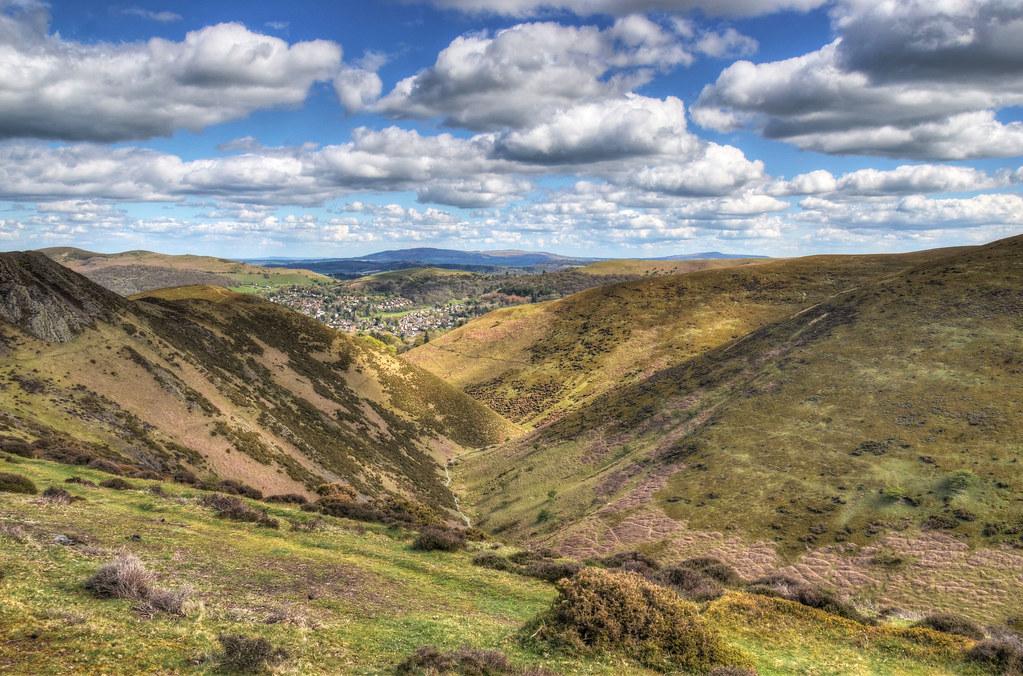 Townbrook Valley, Long Mynd, Shropshire Hills (Explored)