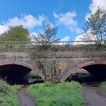 12th May 2021. Aqueduct on the Bridgewater Canal at Hawthorn Lane, Stretford, Manchester