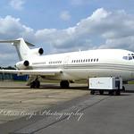 VP-BAA 1966 Boeing 727-100 Farnborough Airshow 20.07.04