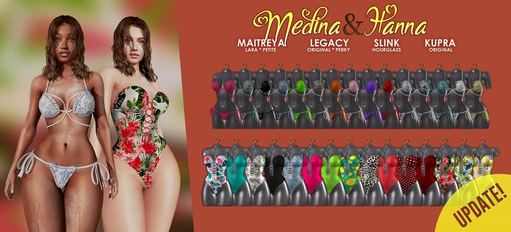 MAAI Medina & Hanna swimsuit + GIVEAWAY