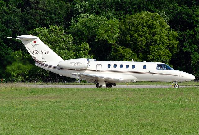 HB-VTA Cessna 525C Citation CJ4