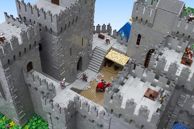Storst Castle Courtyard
