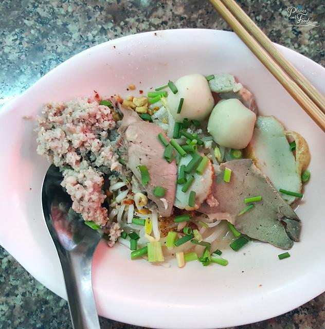 Rung Rueang Pork Noodles dry