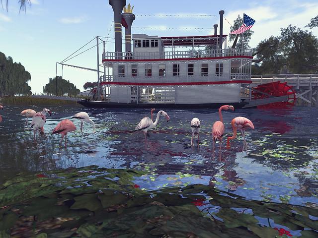 80Days - The Bayou- Dixie Belle Flamingos