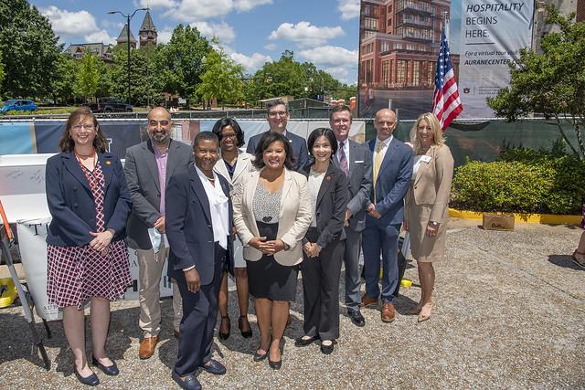Faculty and staff of Auburn University's hospitality management program