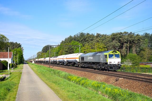 Railtraxx 266 009 Langdorp (B) 14/5/2021