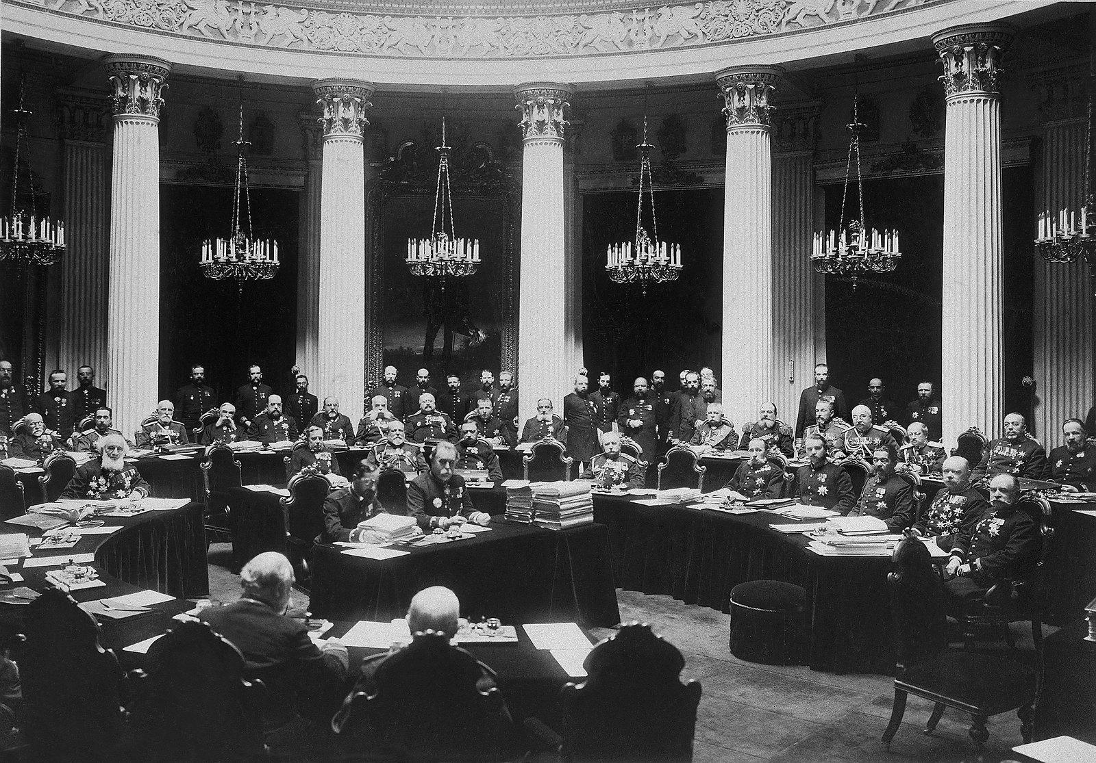 1903. Торжественное заседание Государственного совета