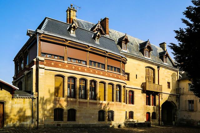 Maison d'Ernest Meissonier – Enclos de l'Abbaye - Poissy (78)