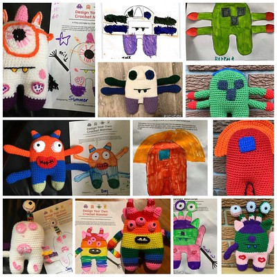 I love Catherine (MCatherineL)'s Design your own Mix and Match Monster by Shama Mohammed that she had her grandkids design!!