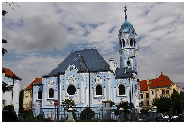 Blue Church/Church of St. Elizabeth