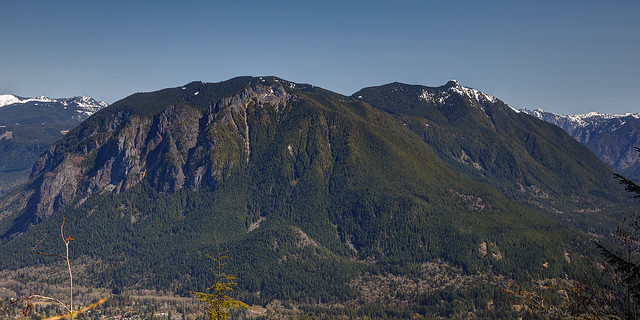 Mount Si, Green Mountain, and Mount Teneriffe