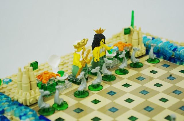 2021 - lego ocean chess set
