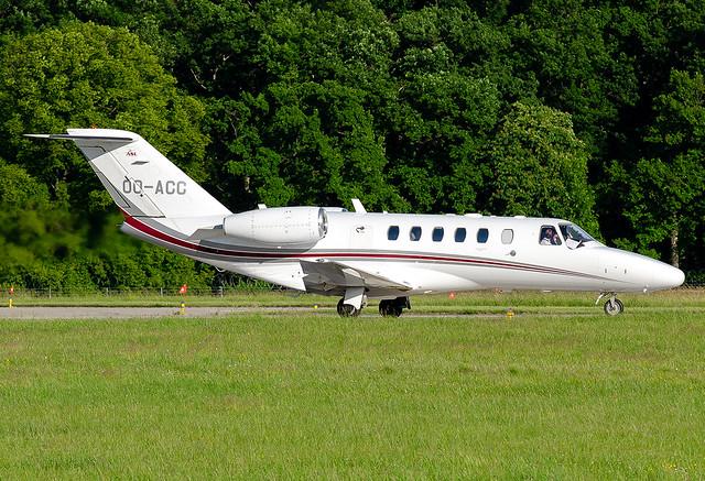 OO-ACC ASL - Air Service Liege Cessna 525A Citation CJ2+
