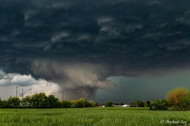 Supercell Wall Cloud 3