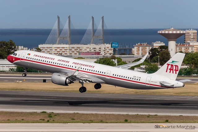 TAP Air Portugal (Retro Livery) / Airbus A321-200N / CS-TJR