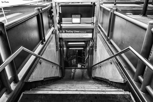 Underground Trolley.