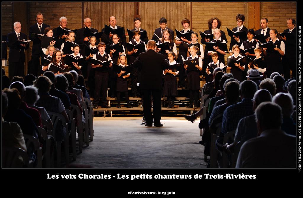 Les voix Chorales - Les petits chanteurs de Trois-Rivières