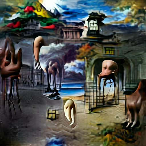 Aleph2Image Gamma - Surrealism