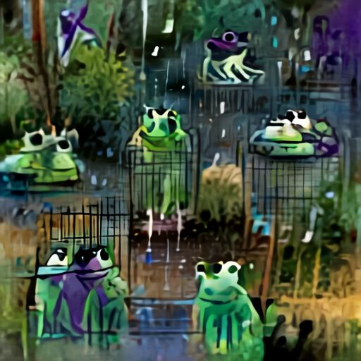 Aleph2Image Gamma - Frogs In The Rain
