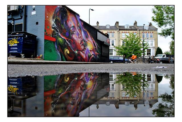 LONDON STREET ART by MR.CENZ.