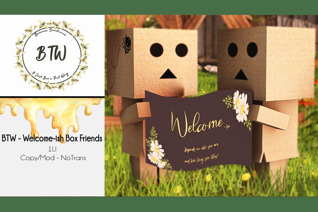 BTW – Welcome-ish Box Friends