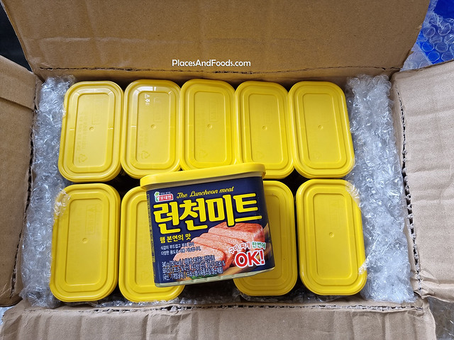 korea lotte the luncheon meat review