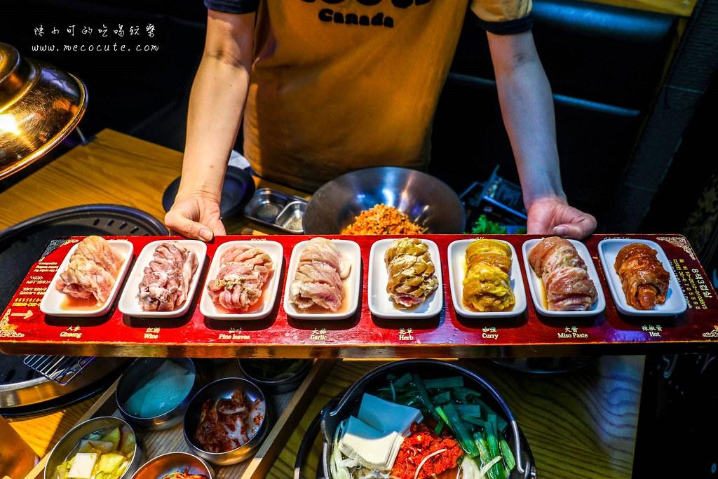 獨家限定八色烤肉吃到飽推薦!招牌豬五花烤肉、綜合海鮮煎餅、口水辣炒年糕和海鮮豆腐鍋通通吃到飽,吃到飽活動到五月底