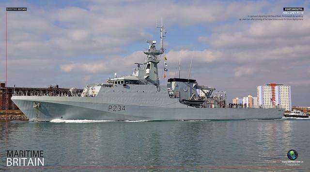 HMS SPEY P234