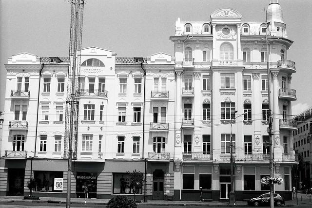 Kiev-19 helios 81 h ilford pan 100