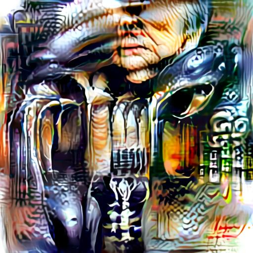 Aleph2Image Delta - H R Giger