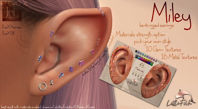 ~LF~ Miley Earring Set - Out now!