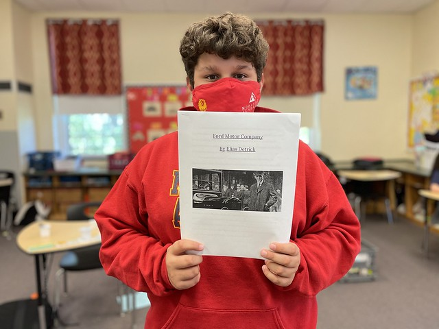 Fifth Grade Research Reports
