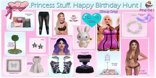 .Princess Stuff. Birthday Hunt Gifts! _3