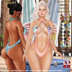 """ VOOH "" GROUP GIFT 78 - SWIMSUIT MIX & MATCH 30 COLORS"