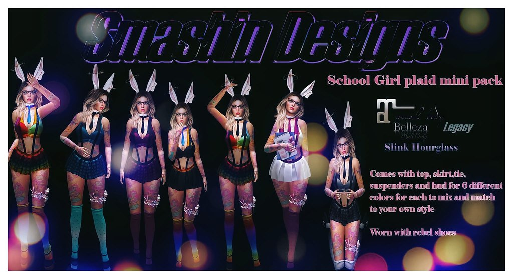SD School girl plaid mini pack
