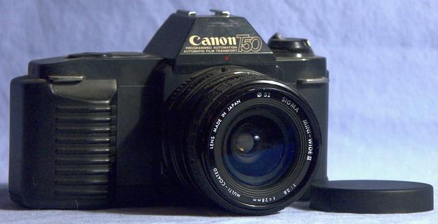 Canon T50 - Sigma Mini-Wide II f2.8 28mm