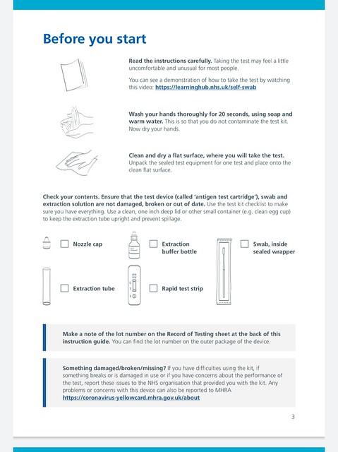 healthcare swab testing LFT TESTS ( RAPID ANTIGEN TEST)