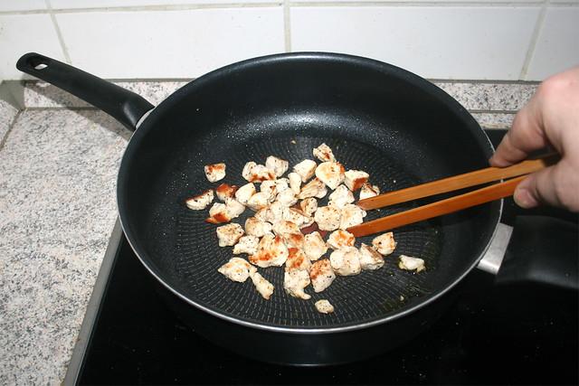 07 - Brown chicken / Hähnchen bräunen