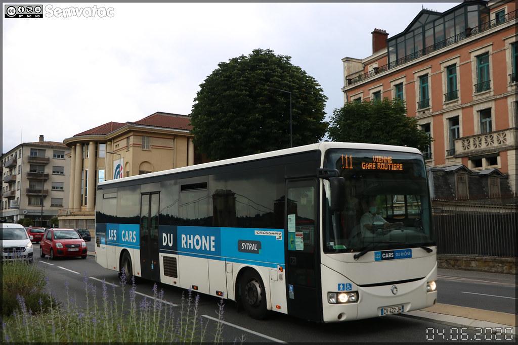 Irisbus Crossway – Transdev RAI (Rhône Alpes Interurbain) / Les Cars du Rhône n°7639