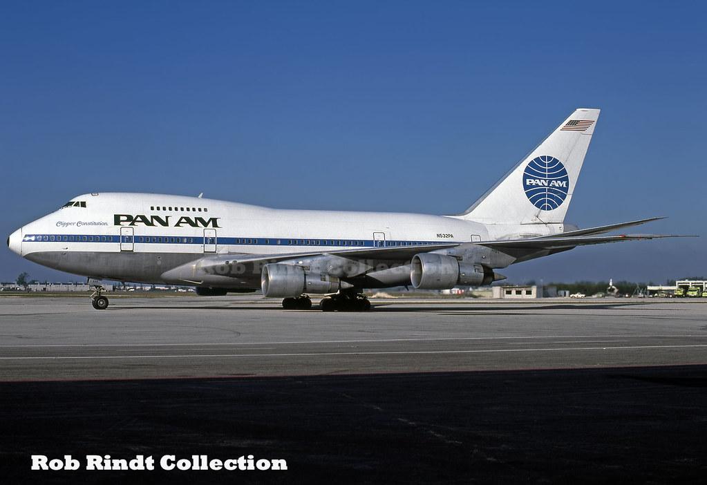 Pan American B747SP-21 N532PA