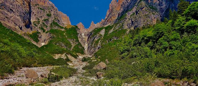 ITALIEN, Italy,   Richtung Brenta-Gebirge (-Dolomiten) zum Croz dell' Altissimo, 79070/13683
