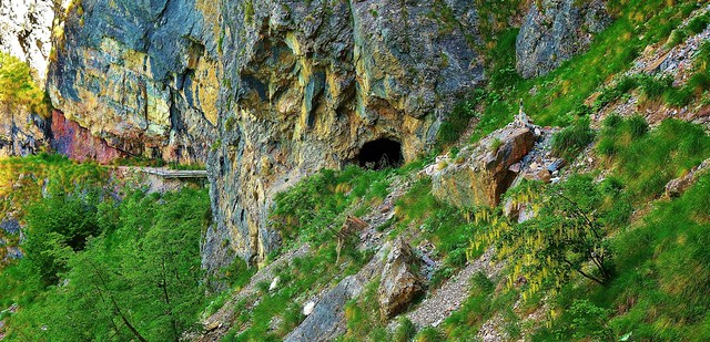 ITALIEN, Italy,   Richtung Brenta-Gebirge (-Dolomiten) zum Croz dell' Altissimo, 79072/13685