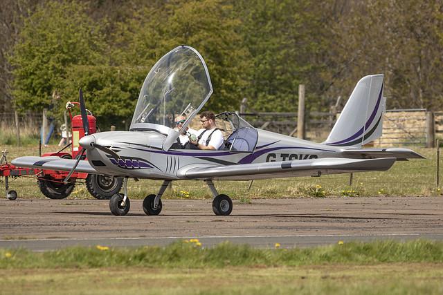 Purple Aviation Evektor EV97 Eurostar G-TSKS