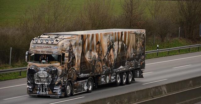 D - Heide Logistik >Thor the viking< Scania NG S