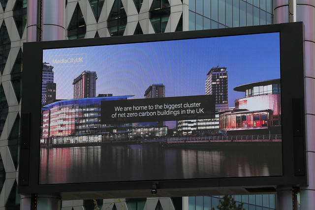 14th May 2021. Net Zero Carbon. Media City UK, Salford Quays, Greater Manchester