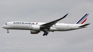 Air France A350-941 msn 502 F-WZFC / F-HTYK