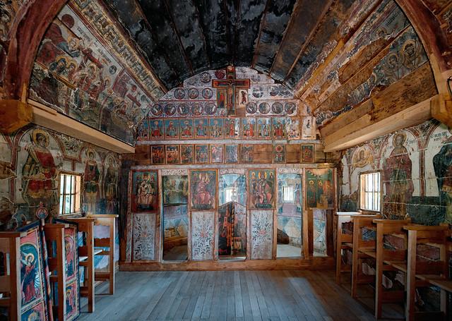 Wooden Church of Urși Village, Vâlcea County, ROMANIA